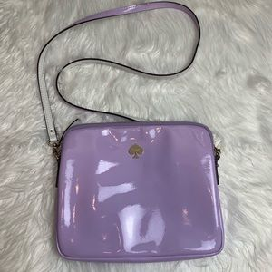 Kate Spade Lavender Patent Leather Crossbody